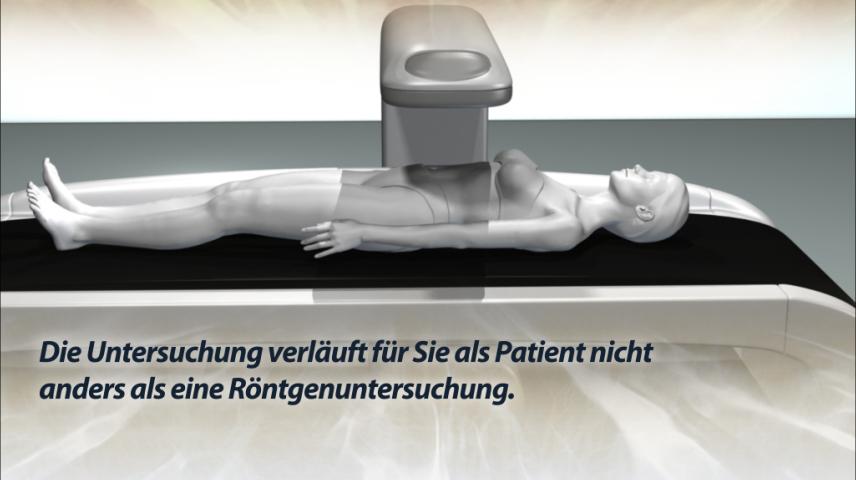 Erklärfilm für Patienten   135 Densitometrie