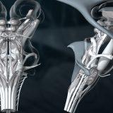 3D-Animation   Gehirn, Hirnstamm