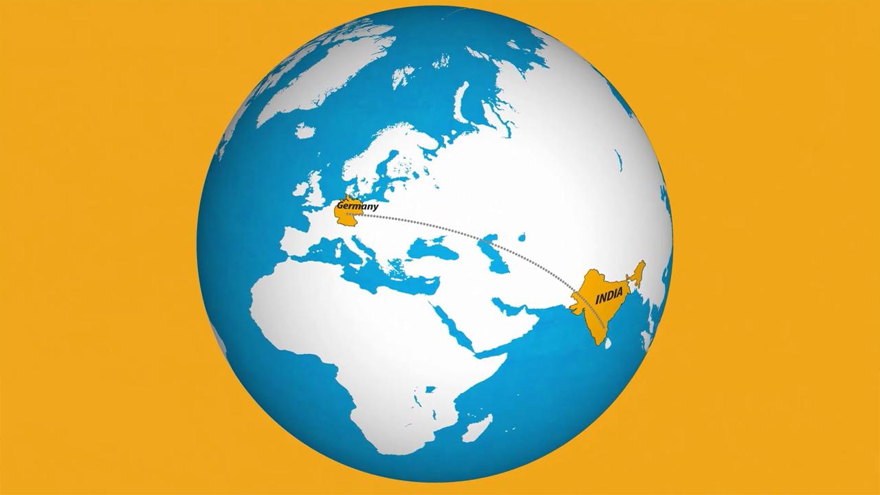 Erklärfilm Vital Solutions | Von Indien nach Deutschland